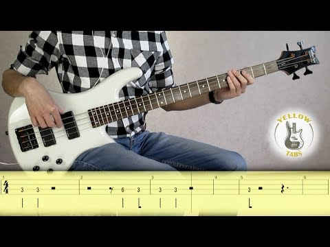 Bon Jovi - It's my life (bass cover with TABS)
