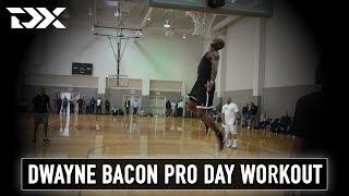 Dwayne Bacon NBA Pro Day Workout