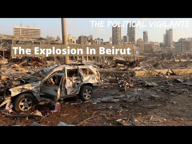Richard Medhurst Explains Beirut Explosion