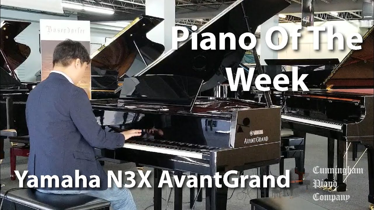 Piano Of The Week Yamaha N3X AvantGrand Hybrid Piano