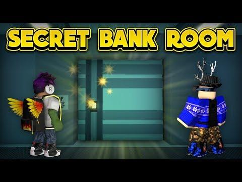 WE GOT IN THE SECRET BANK ROOM! (ROBLOX Jailbreak)