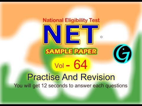 NET solved papers  UGC NET Vol 64  Guess Paper  Mass communication  Expected Questions   Important