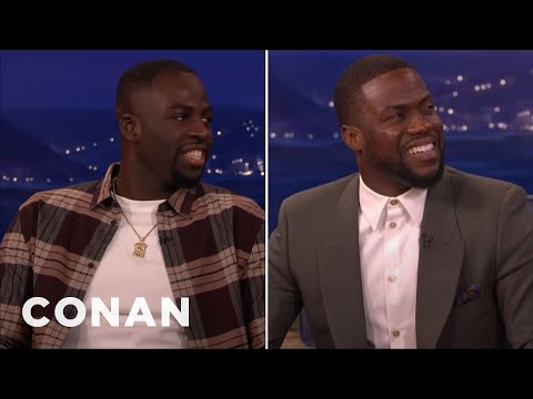 Draymond Green: Kevin Hart Sucks At Basketball  - CONAN on TBS