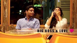 Those moments when reality merge with fiction....Its a drama about BIGGBOSS AND LOVE .....Man vs Boss!!!!  CREDITS:- Concept:-Ashok and Shriram Cast:-Shriram-Viya Cathrine-Ajith Devaraj-Mona Camera:-Gowtham Nitilesh Editing:-HariPrabhu Gnanavel Music&Sfx:-Vishnu  Like our Page for More Updates: https://www.facebook.com/SugarMittai