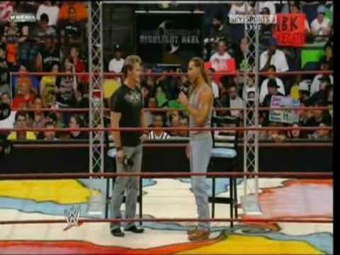 WWE Raw: Chris Jericho's Highlight Reel w/Shawn Michaels (June 9, 2008)