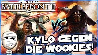 Kylo gegen die Wookies! - Star Wars Battlefront II #161 - Lets Play deutsch Tombie
