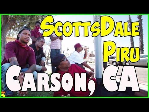 Scottsdale Piru; history, conflict, incarceration and Piru confict; Carson, California