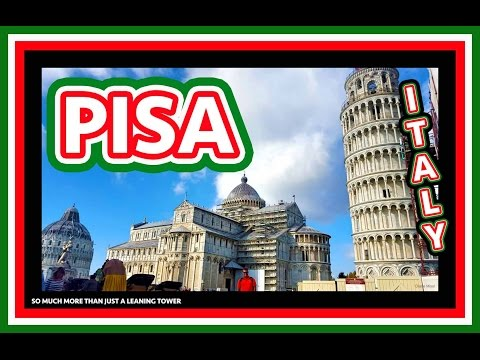 Pisa, Italy - Piazza dei Miracoli, Leaning Tower, One Day in Pisa