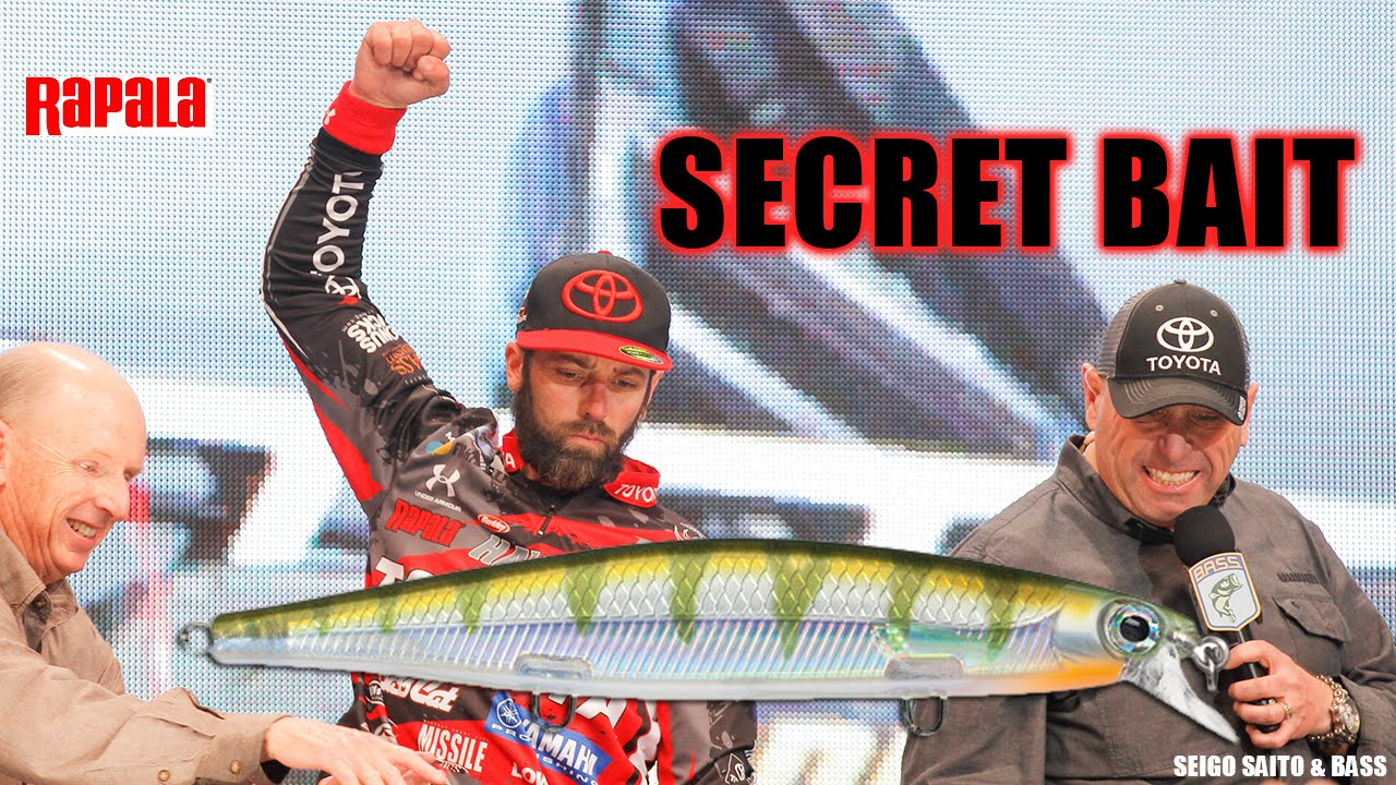 Secret new bass fishing bait to catch more bass ike 39 s for Bass fishing tackle box