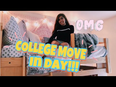 COLLEGE MOVE IN DAY VLOG 2018! | Grand Valley State University
