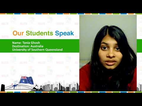 Students Speak: Tania Ghosh, University of Southern Queensland