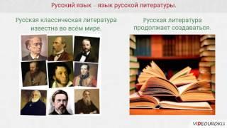 Видеоурок 'Роль языка в жизни общества'