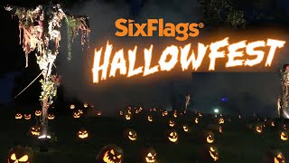 Hallowfest at Six Flags Over Georgia 2020 Tour & Review with The Legend