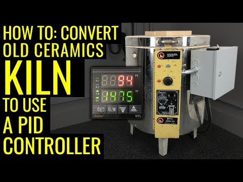 How To: Convert a Ceramics Kiln into Heat Treating Oven - PID Controller