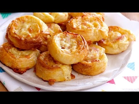 Easy recipe: How to make ham and cheese scrolls