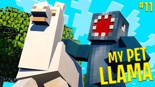 MY PET LLAMA!! - Minecraft Aquatic Adventure! #11