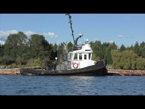 PACIFIC TUGBOATS Log Boom Towing 2016
