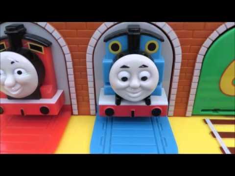 Nouveau coucou thomas et ses amis le petit train james percy jouets chuggington youtube - Train thomas et ses amis ...