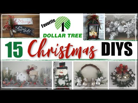 15 DIY DOLLAR TREE CHRISTMAS DECOR IDEAS | DIY Christmas Decorations | Momma From Scratch
