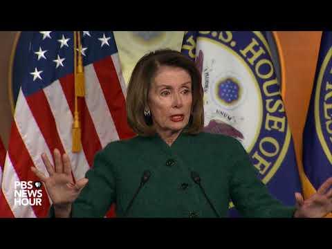 WATCH: Rep. Nancy Pelosi holds weekly news briefing