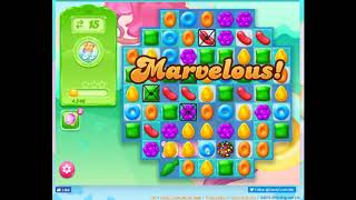 Candy Crush JELLY, Level 19 Audio Talkthrough, 0 Boosters
