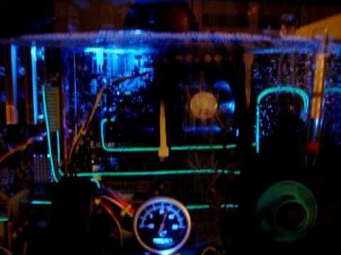 Aquarium Computer Submerged In Mineral Oil + Radiator No3