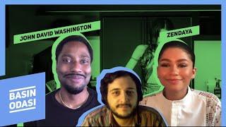 Download Zendaya, John David Washington, Sam Lavinson   Malcolm & Marie Ekibi   Basın Odası #3