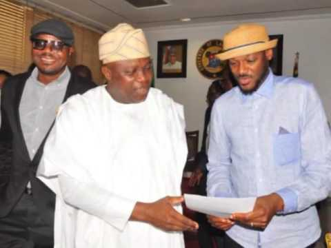 Governor Of Lagos State Honors 2baba