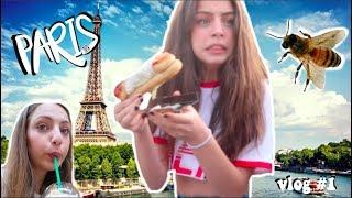 ליה נעקצה מדבורה בפריז?!   וולוג #1