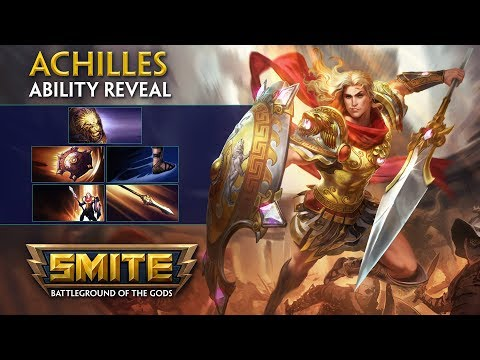 SMITE - God Ability Reveal - Achilles, Hero of the Trojan War
