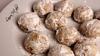 Pine Nut Cookies (Pinoli Cookies) Recipe - Laura Vitale - Laura in the Kitchen Ep 304
