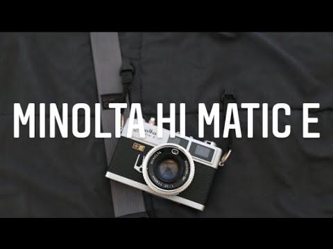 Minolta Hi Matic E 35mm Range Finder Camera   Plans For The Channel