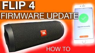 JBL Flip4 Firmware Update (how to)