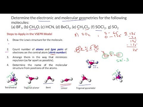 Socl2 Lewis Structure How To Draw The Lewis Structure For ...