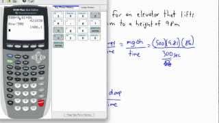 Work, Energy, Power - power and efficiency (1/2) - (IB Physics, AP, GCSE, A level)