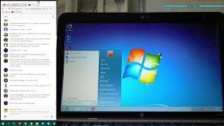 07 - установка HDD и Windows на ноутбук