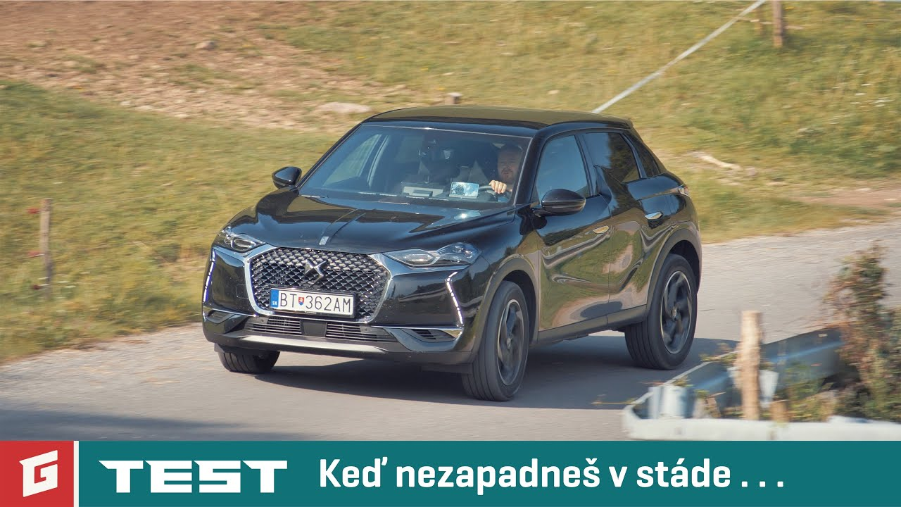 DS 3 CROSSBACK 130 PureTech EAT8 GRAND CHIC-TEST-GARAZ.TV Rasťo Chvála - YouTube