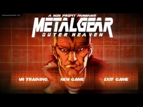 Metal Gear: Outer Heaven (Remake) Playthrough [Part 1/3]