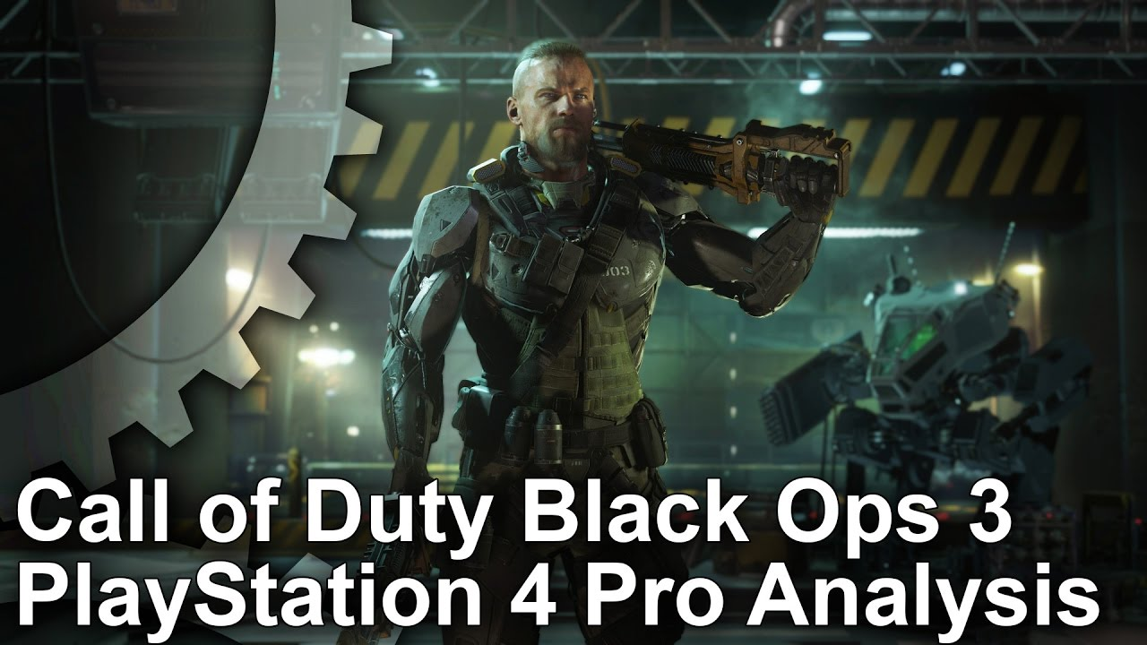 4k Call Of Duty Black Ops 3 Ps4 Pro Analysis Comparison Youtube Sony Playstation 4 Cod Limited Edition Non Dvd