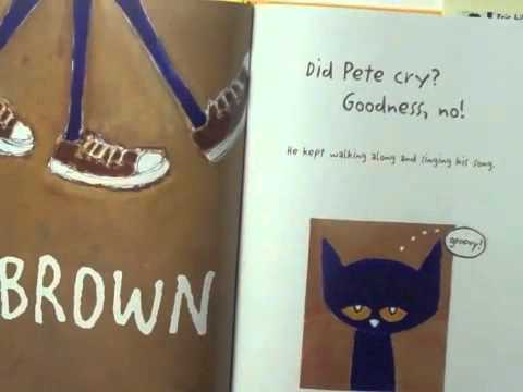 Pete The Cat I Like My White Shoes Youtube