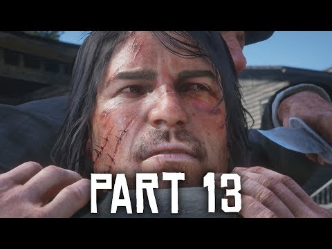 Red Dead Redemption 2 Gameplay Walkthrough Part 13 - TRAIN ROBBERY WITH JOHN MARSTON (Full Game)