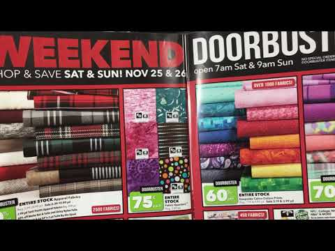 Joann's 2017 Black Friday Sales Ad-come see the deals!! 👀