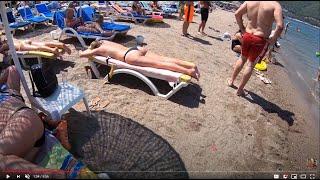 #Marmaris - #İçmeler Beach - June 2019 - 4K 60FPS - UHD 2160p - #Muğla - #Turkey