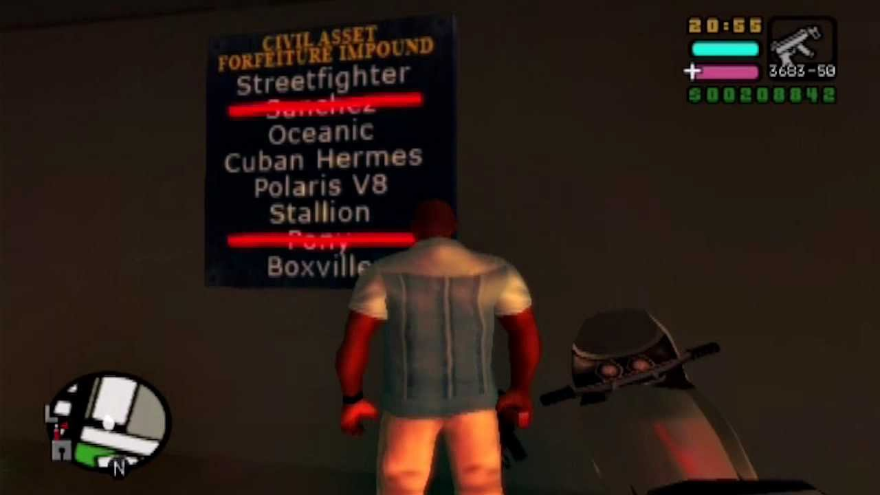 Gta Vice City Stories Car List