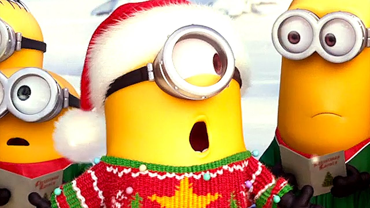 MINIONS Christmas Clip (2015) - YouTube