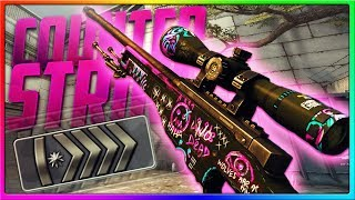 CS GO - SILVERS THINK I'M HACKING! | CSGO Competitive Gameplay