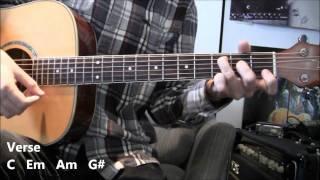 My interpretation of how to play Radiohead's song 'True Love Waits'...