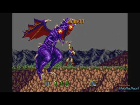1991 Jewel Master (Sega Genesis) Game Playthrough Video Game