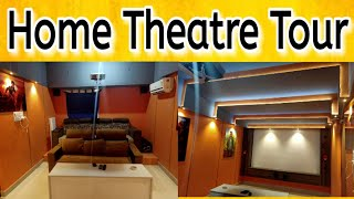 Home theatre Room tour | Low Budget Home Theatre Room for your home