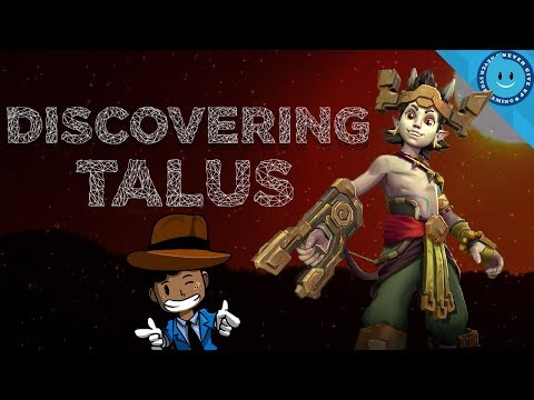 DISCOVERING TALUS: Talus Guide, Gameplay and Loadout! (Paladins - Top Secret!)